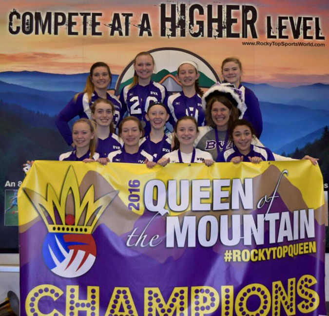15 National Team- Queen of the Mountain Champions